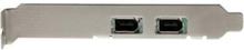 2 Port 1394a PCI Express FireWire Card -
