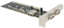 3 Port PCI Low Profile High