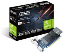 GeForce GT 710 Silent Low Profile - 2GB GDDR5 RAM - Grafikkort