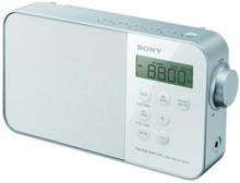 FM Radio ICF-M780SL - personlig radio - FM/MW/LW/SW - Mono - Vit