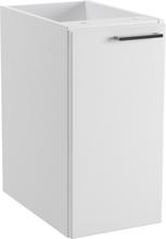 Temal Tvättställsskåp med en lucka Design Vit-Höger-50-45