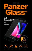 Apple iPhone 6/6s/7/8 Jet Black/Black (Case Friendly)