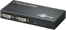 DVI-I splitter - 4 ports