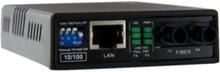 10/100 MM Fiber Copper Fast Ethernet Media Converter ST 2 km