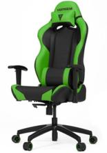 S-Line SL2000 Racing Series Krzes?o gamingowe - Czarno-zielony - Skóra PU - 150 kg