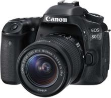 EOS 80D - digitalkamera EF-S 18-55 mm IS