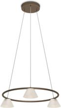 Vendee Pendant 3x4.5W - Bronze Hängen