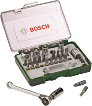 Screwdriving Set with Mini Ratchet