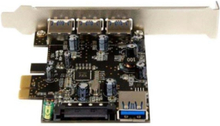 4-port PCI Express USB 3.0 Card