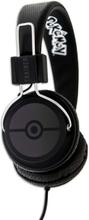 Folding Headphones Teens Pokeball - Svart