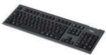 SLIM value Keyboard - Tastatur - Dansk - Svart