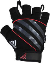 Gloves Sh. Fingered Perf. Red XL