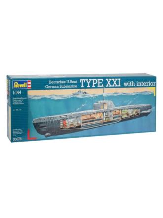 you 2540 Type XXI submarine