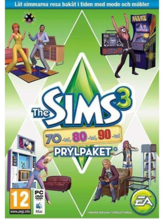 Sims 3: 70s 80s & 90 sStuffPack - Windows - Simulering - skyting