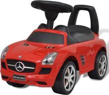 vidaXL Rød Mercedes Benz Fod Drevet Kids Bil