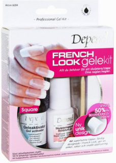 Depend Gel Kit French Look - Square Design