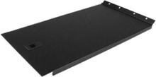6U Solid Blank Panel with Hinge