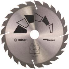 Sirkelsagblad STANDARD D= 150 mm, borediameter= 20 mm, T= 24