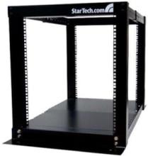 12U 4 Inlägg Öppet Frame Server Utrustning rackskåp - Rack