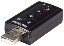 Virtual 7.1 USB Stereo Audio Adapter External Sound Card