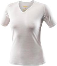 Devold Breeze Women's T-Shirt V-neck Dam T-shirt Vit XL