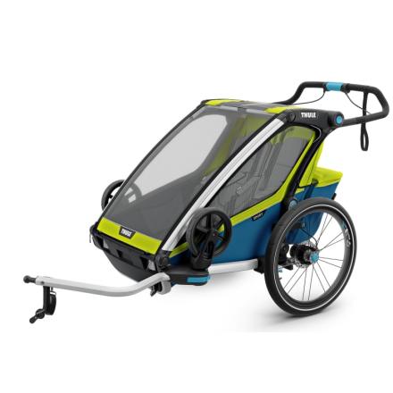 Thule Chariot Sport2 (2018) Cykel- & Barnvagn Gul OneSize
