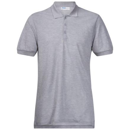Bergans Valmue Piquè Shirt Herr T-shirt Grå L