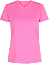 Newline Base Cool women Tee Dame Kortermede treningstrøyer Rosa XS