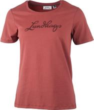 Lundhags Lundhags Women's Tee Dam T-shirt Röd S