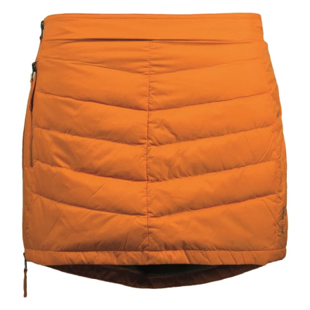 Skhoop Mini Down Skirt Dam Kjol Orange XS