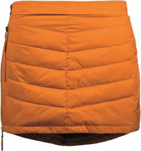 Skhoop Mini Down Skirt Dam Kjol Orange XS