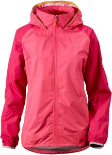 Didriksons Nomadic Women's Jacket Dame regnjakker Rosa 34