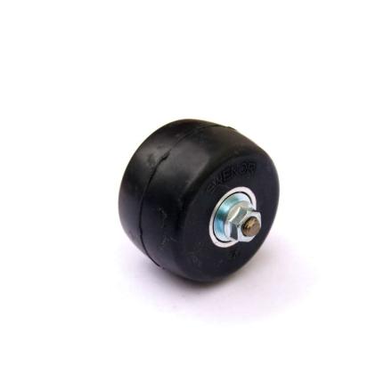 Swenor Carbonfibre-Complete Back Wheel Skidutrustning Svart ONESIZE