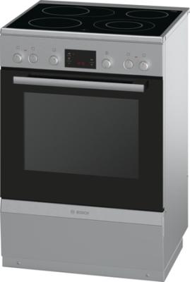 Bosch Spis 60 cm Rostfritt stål HCA744250U