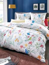 Bettbezug ca. 135x200cm, Kissenbezug ca. 80x80cm Elegante mehrfarbig
