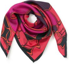 Scarf i 100% silke från Uta Raasch röd