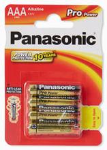 Batteri Pro Power AAA LR03, 4-pack