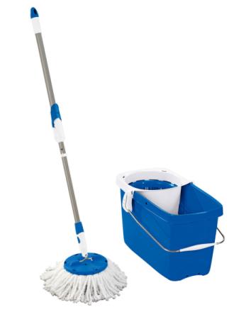 Leifheit Clean Twist-vaskesett Leifheit blå