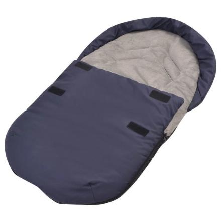 vidaXL Barnepose til barnesete 75x40 cm marineblå