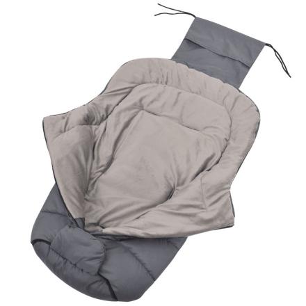 vidaXL Barnevognpose 90x45 cm grå