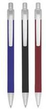 BALLOGRAF Kulpenna, Rondo Plus, mediumspets, gummiklätt skaft i diverse färger, diverse bläckfärger