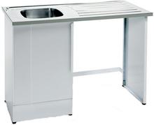 Nimo NB 1200 Tvättbänk halvöppen med tvättho vänster