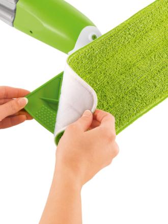 Ekstrakluter for Mr. Maxx spraymopp Mr. Maxx grønn