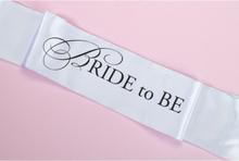 Ordensband Bride To Be, Vit