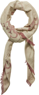 Guess Vintage Scarf 78x180 Skjerf Beige GUESS
