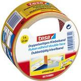 tesa® Dubbelsidig tejp, Universal, vit, 50mm x 5m,