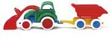 Traktor med släp, leksaksfordon, plast, +3 år