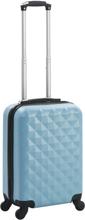 vidaXL Hård resväska blå ABS