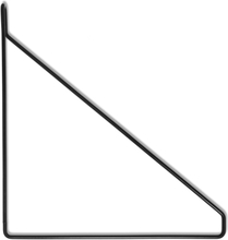 Hyllkonsol RETRO 27 cm svart Trådkonsol