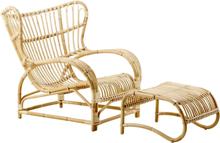Teddy Chair fåtölj rotting natur, Sika-Design